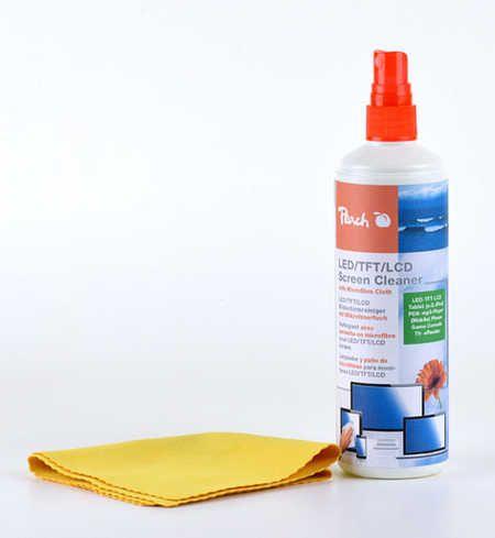 Bildschirmreiniger von Peach, 100 ml inkl. Reinigungstuch